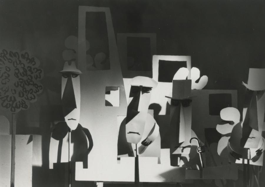 1968, Fin de partie ou étude pour marionnettes