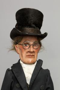 Aulard, Maire, marionnette. © Christophe Loiseau / Centre des monuments nationaux