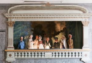 Façade du dernier castelet. Photographie extraite du dossier pédagogique réalisé par la Maison de George Sand à Nohant.