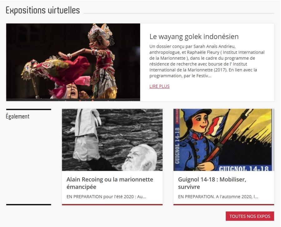 Dossiers et expositions