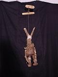 Tirésias, marionnette à tringle
