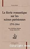 La féerie romantique sur les scènes parisiennes