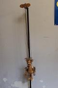 Amour ou Cupidon, marionnette à tringle