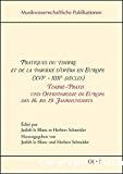 Pratiques du timbre et de la parodie d'opéra en Europe (XVIe - XIXe siècles)