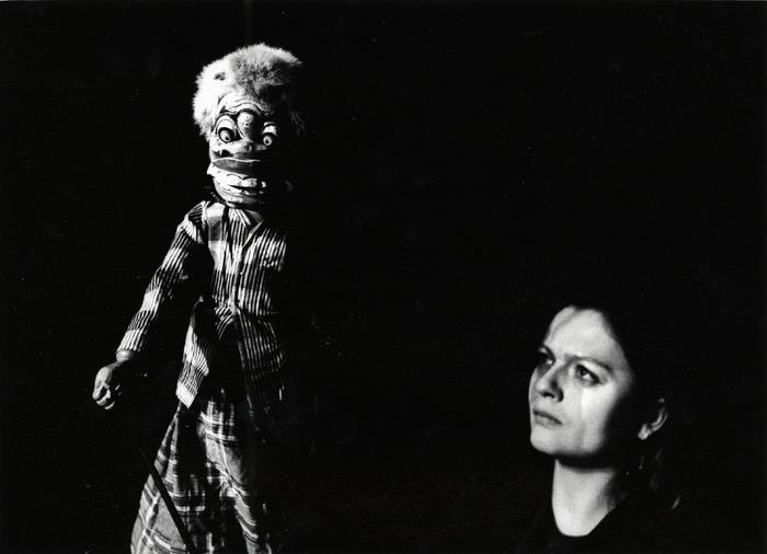 Wayang golek, atelier dirigé par Asep Sunandar, avec la 3e promotion de l'École Nationale Supérieure des Arts de la Marionnette.