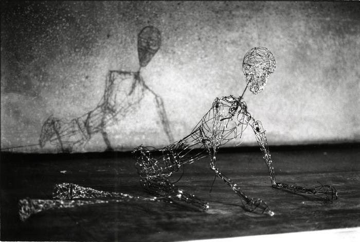 Marionnette réalisée par Michel Ozeray pour L'Amour, champ de bataille