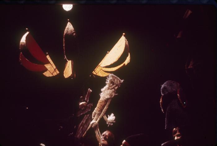 L'Enfant d'Eléphant, par les Marionnettes d'Alain Recoing, photo de spectacle.