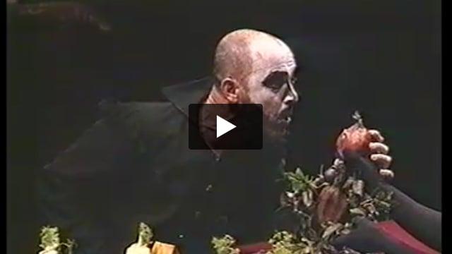 Ubu, par le Nada Théâtre - Extrait 1 [Capitaine Bordure]