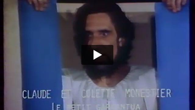 Le petit Gargantua, par le Théâtre sur le FIl (France.), extrait de Les Giboulées de la marionnette 1979 : 3e festival international des théâtres de marionnettes de Strasbourg.