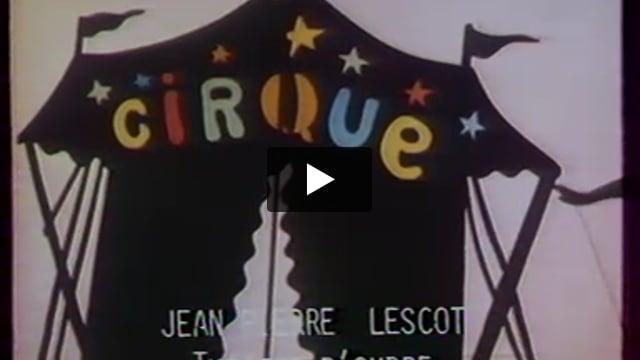 Voyage dans un parapluie, par Jean-Pierre Lescot (France), extrait de Les Giboulées de la marionnette 1979 : 3e festival international des théâtres de marionnettes de Strasbourg.