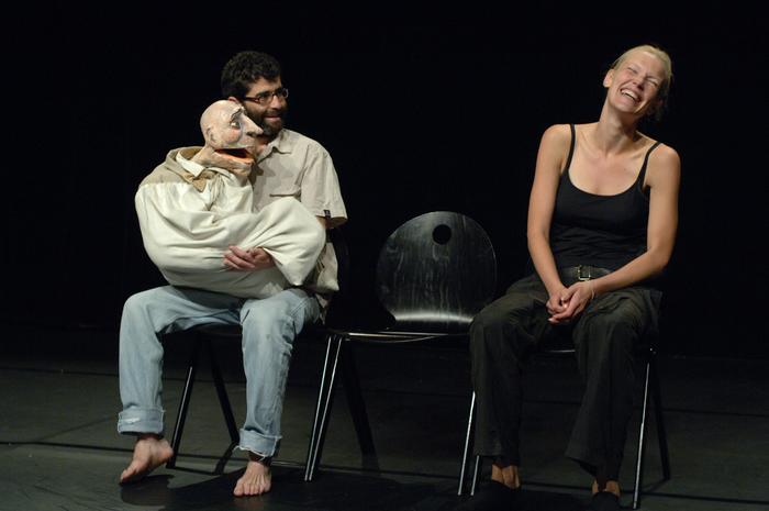 L'acteur dédoublé, stage dirigé par Neville Tranter.
