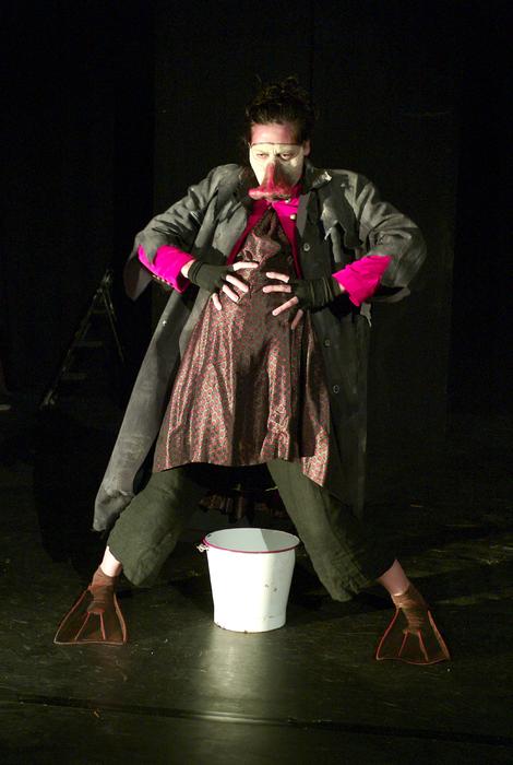 Le conte : spectacle de l'inconscient, stage dirigé par Ilka Schönbein