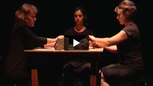 L'acteur face à l'objet, stage dirigé par Agnès Limbos