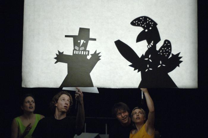 Le Guignol au gourdin, projet de fin d'études à l'ESNAM, sous la direction de Luc Amoros.