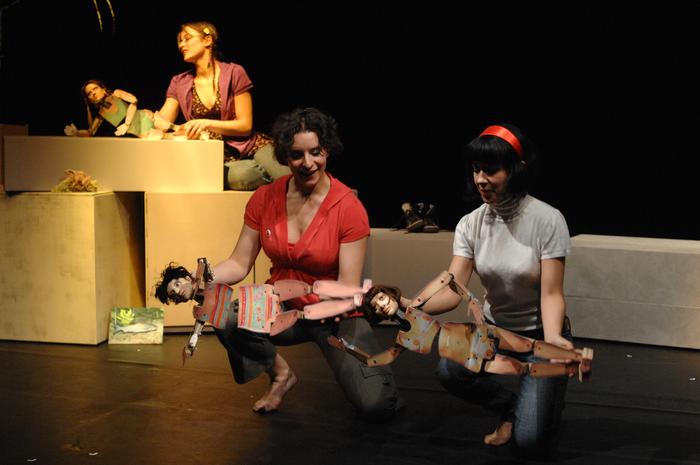 C'est l'anniversaire de Michèle mais elle a disparu, pièce de Philippe Minyana pour les étudiants de la 7° promotion de l'ESNAM.