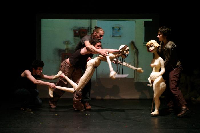 Les Baigneuses, projet de fin d'études de Perrine Cierco à l'ESNAM.