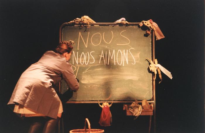 Coâ encore !, par la compagnie Ches Panses Vertes, photo de spectacle.