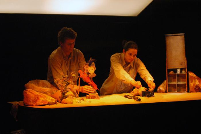 1er Festival Marionnettes en Chemins (2004), Mamie Ouate en Papoâsie, compagnie La Chrysalide