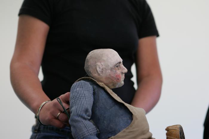 2e Festival Marionnettes en Chemins (2006), résidence de la compagnie Arnica à Thourotte, Atelier d'expression théâtrale et marionnettique