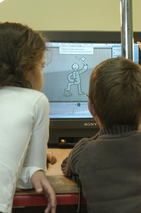3e Festival Marionnettes en Chemins (2008), Atelier d'initiation au cinéma d'animation avec le réalisateur Nicolas Bellanger