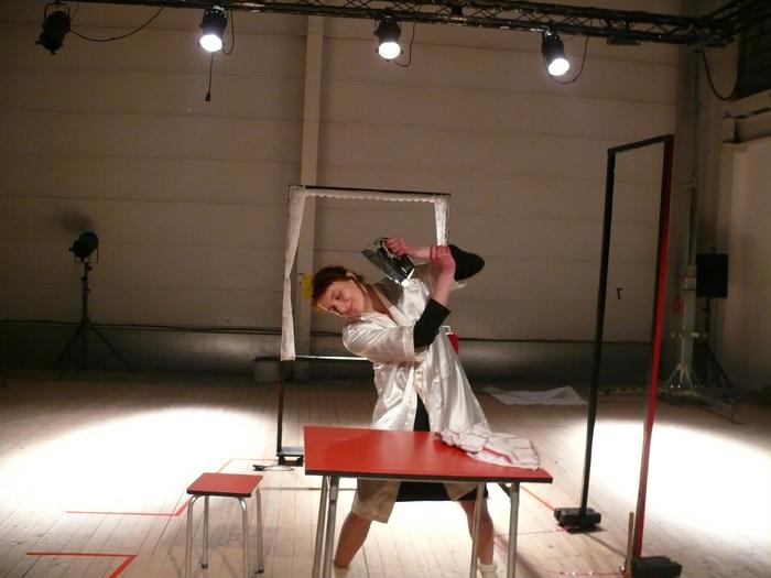 Résidence de la compagnie De Guingois au Tas de Sable pour le spectacle Un Femmes