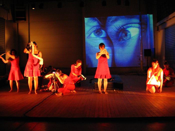 Comme le chien revient à son vomissement, création collective des étudiants de la deuxième année expérimentale de l'option Arts de la Marionnette du CRR d'Amiens (2008/2009)