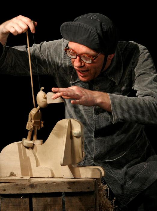 Bynocchio de Mergerac, par le Bouffou Théâtre, photo de spectacle.