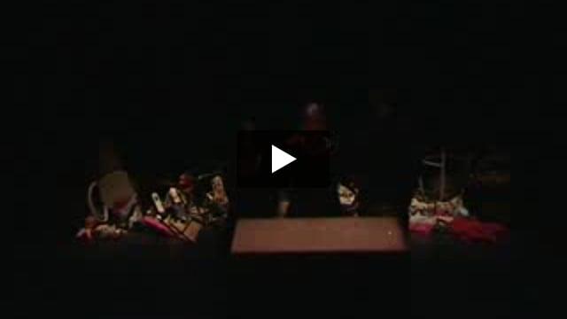 L'acteur face à l'objet, atelier Agnès Limbos avec les étudiants de la 8° promotion de l'ESNAM