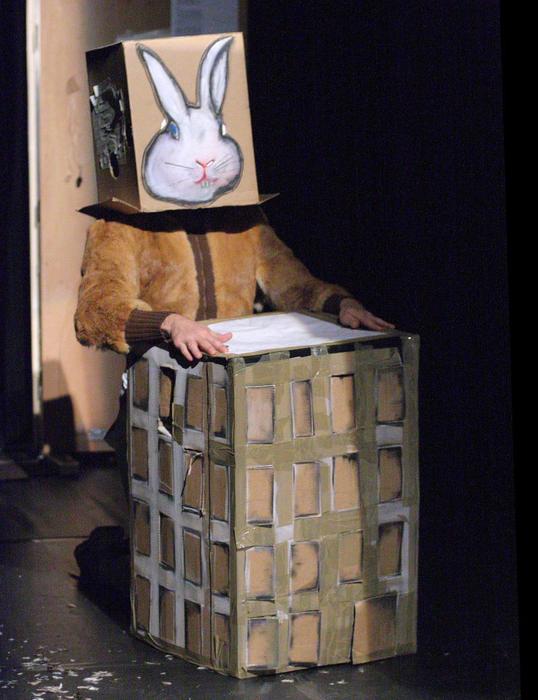 Alice, par la compagnie Art Zygote, photo de spectacle.