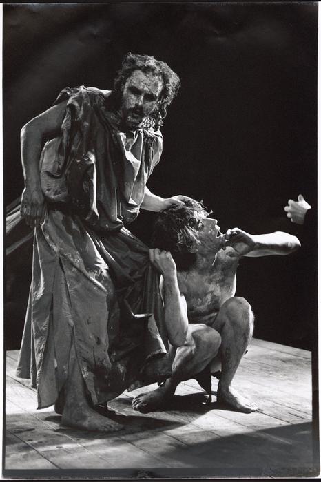 Le Jeu du roi, par la compagnie Ches Panses Vertes, photo du spectacle