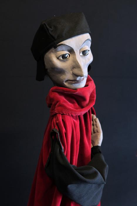 Faust, marionnette du spectacle