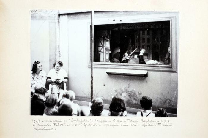 1943. Une scène à