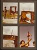 La Fille aux bras coupés, par la compagnie Théâtre Manarf, montage de photos de spectacle.