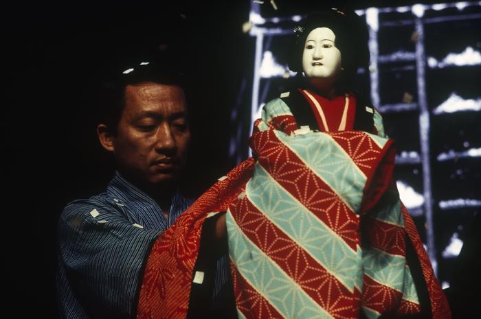 Date musume koi no higanoko (La Belle à la robe enflammée d'amour) : scène de la tour d'alerte au feu (traditionnel)