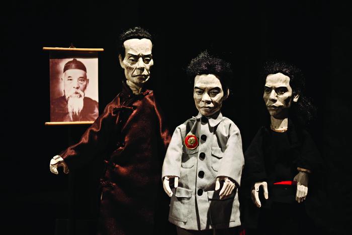 Hand Stories, par Yeung Faï, photo de spectacle.