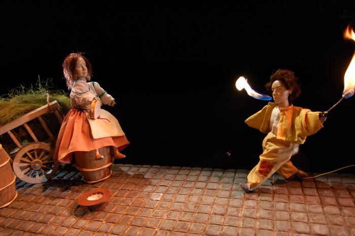La Petite Odyssée, par Grégoire Callies, photo de spectacle.