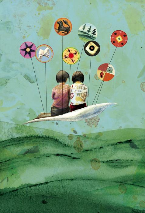 La Petite Odyssée, par Grégoire Callies, illustration.