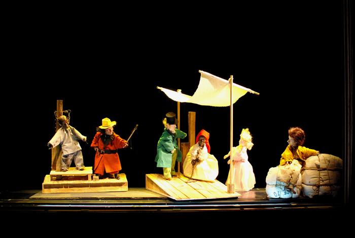La Petite Odyssée 2, par Grégoire Callies, photo de spectacle.