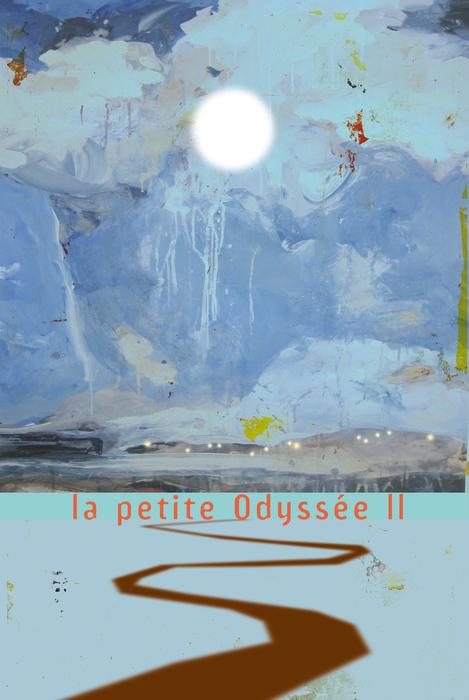 La Petite Odyssée 2, par Grégoire Callies, affiche de spectacle.