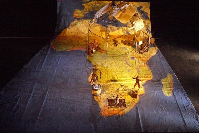 Jules Verne et le Griot, par Hubert Mahela et Grégoire Callies