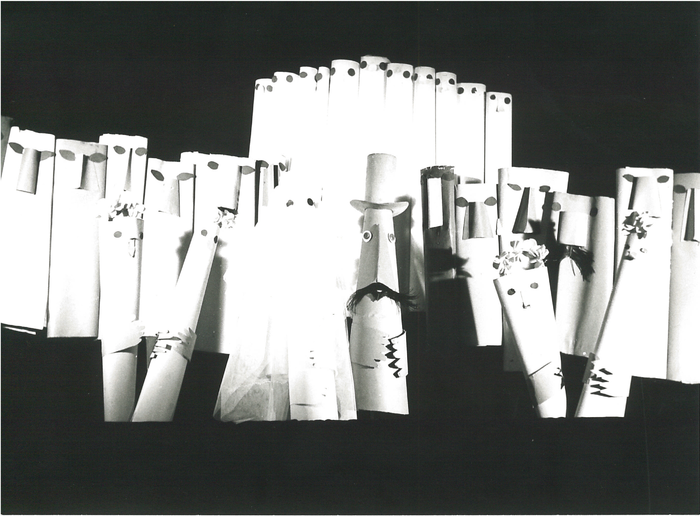 La Noce, par la compagnie Yves Joly, photo de spectacle