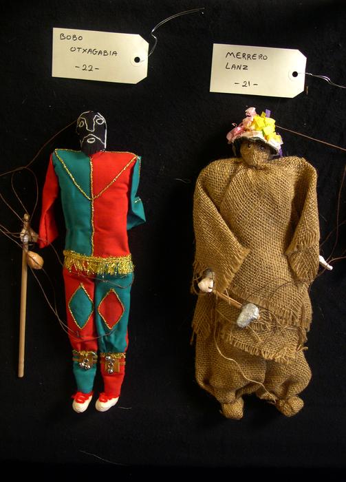 Bobo Otxagabia et Merrero Lanz, marionnettes à fils