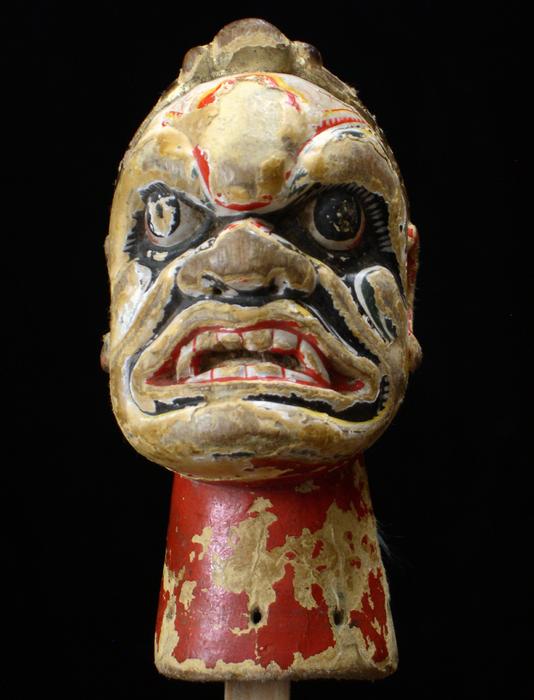 Marionnette à gaine chinoise, tête et cône