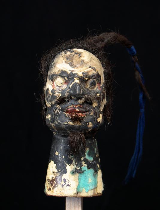 Marionnette à gaine chinoise, tête