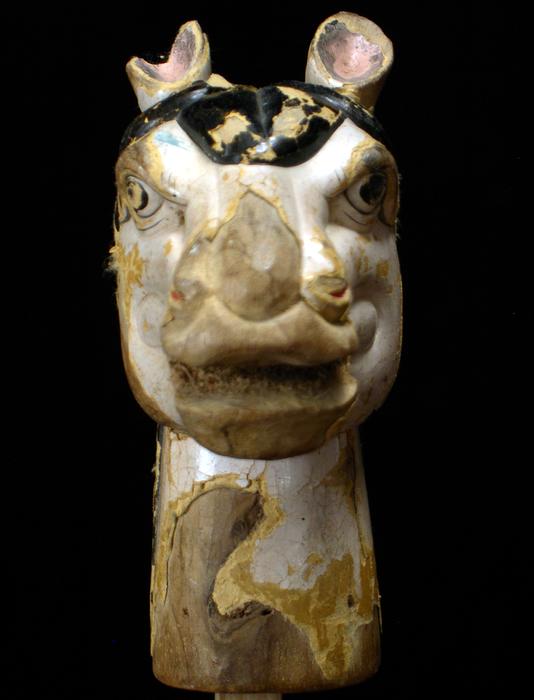 Marionnette à gaine chinoise, tête de cheval
