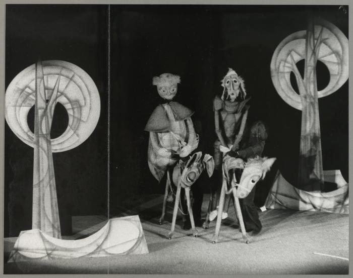 Don Quichotte, par le Théâtre de Marionnettes de Metz (actuellement le Coup de Théâtre Cie) (France)