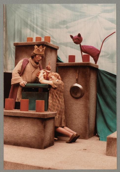 Le petit roi de rien, par le Théâtre de Marionnettes de Metz (actuellement le Coup de Théâtre Cie) (France)