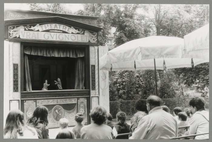 Spectacle du Théâtre Le vrai Guignolet (Marionnettes des Champs Elysées) (France)