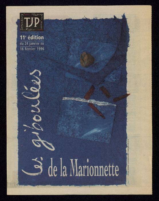 Programme de la 11e édition du Festival des Giboulées de la Marionnette