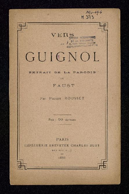 Vers de Guignol